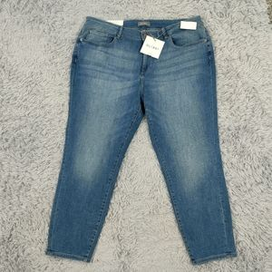 Florence Cropped Everglade 18W jeans skinny
